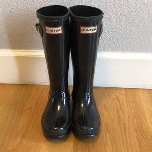 Hunter Boots Original Big Kids Gloss Rain Boots